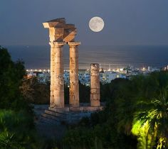 Engel & Völkers Rhodes Have a wonderful evening from Rhodes !