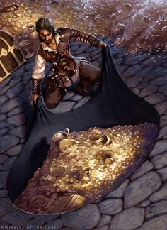 Portable Hole, Dungeons and Dragons 5th Edition by alexstoneart equipment gear magic item | NOT OUR ART please click artwork for source | WRITING INSPIRATION for Dungeons & Dragons DND Pathfinder PFRPG Warhammer 40k Star Wars Shadowrun Call of Cthulhu and other d20 RPG fantasy science fiction scifi horror game design | CREATE YOUR OWN roleplaying game material w/ RPG Bard at www.rpgbard.com