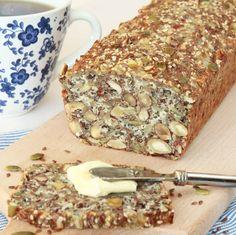 So good bread Clean Recipes, Raw Food Recipes, Dessert Recipes, Cooking Recipes, Lchf, Swedish Recipes, Bread Baking, Pain, Food Inspiration