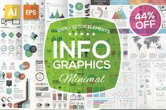 SAVE 15% - Infographic Mega Bundle by MPF Design on Creative Market