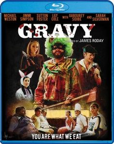 "The horror comedy ""Gravy,"" co-written and directed by James Roday and starring Michael Weston, Jimmi Simpson, and Lily Cole, is now available on DVD and Blu-ray. #examinercom #Gravy #moviereview #MichaelWeston #JimmiSimpson #LilyCole #SarahSilverman #GaboureySidibe #JamesRoday #comedy #horror #movies #ScreamFactory"