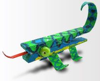 chameleon art projects for kids - Google Search