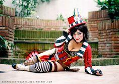 Photo: Steampunk Tendencies | Mad Moxxi Cosplay - Candu Stark c http://steampunktendencies.tumblr.com/post/48718222523/madmoxxi-cosplay-steampunk-tendencies