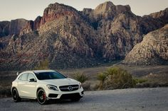 2015 Mercedes-Benz GLA 45 AMG / Red Rock Canyon