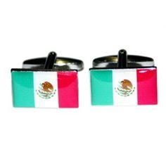 Manchetknopen Mexicaanse Vlag