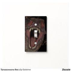 Tyrannosaurus Rex 1 Light Switch Plate