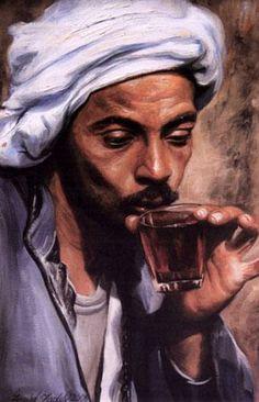 Maher Art Gallery: farid Fadel Hanna Murkus/ Egyptian Portraits, Portrait Art, Arabian Art, Egypt Art, Color Of Life, Ancient Art, Islamic Art, African Art, Black Art
