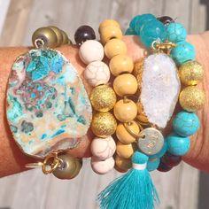 Love the tassel bracelet