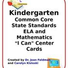 Many districts now require teachers to display focus goals at centers, so Dr. Jean (http://www.drjean.org/)  and I have translated the standards in...