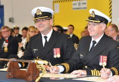 Lieutenant Commander Sean Batte and Captain (Navy) James Cotter Navy News, Royal Canadian Navy, Business Continuity Planning, Lt Commander, Part Time, New View, Military Police, Sailor, Exercises