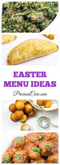 Easter Menu Ideas - Precious Core