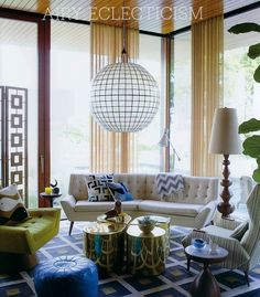 Today's Post: (South Shore Decorating Blog) Totally Unexpected, and Fabulous #design #decorating #beautifulrooms