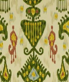 Robert Allen @ Home Khandar Jewel Fabric - $17.45   onlinefabricstore.net