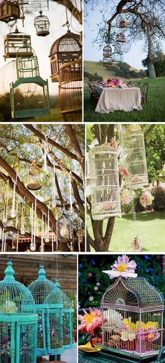 Bird cages for decor, bought one of these for my porch (future)