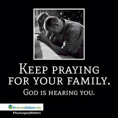 Keep those prayers flowing!!