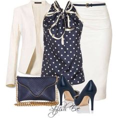 Blauw en wit