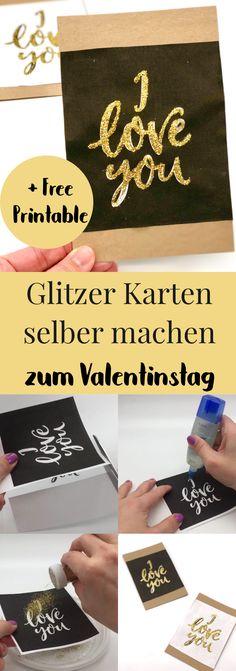 DIY Geschenke zum Valentinstag selber machen. So bastelt Ihr Euch schöne Geschenke für ihn oder für sie. Karten selber machen, schöne Geschenkideen für den Freund oder die Freundin. Liebesgeschenke, Valentinstagsgeschenke, Tutorial, Anleitung, Basteln.