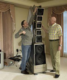 WAMM Master Chronosonic loudspeaker. Limited-edition production run (70 pairs) @ $685,000/pair