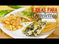 3 IDEAS PARA HACER OMELETTE | Recién Cocinados - YouTube