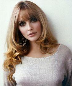 Sharon Tate, Divas, Blonde Bangs, Rocker Look, Ethereal Beauty, Timeless Beauty, Iconic Beauty, Vintage Beauty, Vintage Makeup