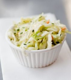 Houston's Cole Slaw – this is a delicious way to make cole slaw.