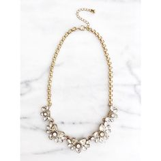 Crystal Vintage Statement Necklace