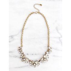 Crystal Vintage Statement Necklace