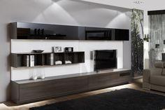 COMPOSICIÓN 24  Composición modular de líneas rectas y gran capacidad de 360 cm.