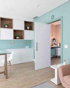Clinic Interior Design, Clinic Design, Coffee Bar Home, Cute Office, Commercial Design, Dog Houses, My Room, Sweet Home, Loft