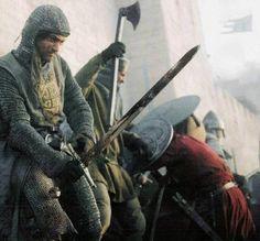 Os irmãos Ibelin (Balian e Balduíno) estiveram ao lado do rei Balduíno IV, durante a Batalha de Montgisard.