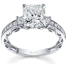 View our outstanding variety of designer wedding rings. We offer you custom quotes for all of our ladies diamond rings and your ring may be set with any kind of diamond cut that you select, including a cushion diamond, emerald diamond, or marquise diamond. Contact us today for to speak to one of our GIA Graduate Gemologists about these impressive rings.