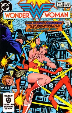 Wonder Woman by Ross Andru & Dick Giordano-Peep how she's dodging those hater bullets lol
