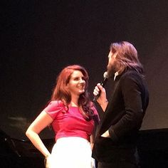 Lana and Father John Misty at 'FREAK' première in 'The Wiltern' Theatre