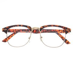 4a0842d05da5 MLC Eyewear Soho Retro Square Fashion Sunglasses in Leopard Clear Lenses      Check out this great product.Note It is affiliate link to Amazon.