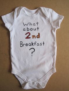 Hobbit Baby Onesie soo cute I am so getting this for when I have kids!!!