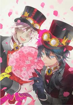 Very cute. Noé is such a cinnamon roll and Vanitas looks kind of... seductive? I don't know how else to describe it
