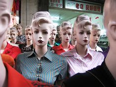 when mannequins take over the world