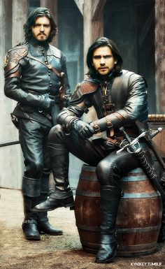 Athos & D'Artagnan-The Musketeers (season 3)