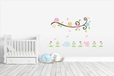 Scroll Branch ~ Kidz 'n Clan Decor Wall Stickers Kids Wall Decals, Wall Stickers, Tree Wall, Baby Room, Custom Design, Wall Decor, Flowers, Home Decor, Wall Clings