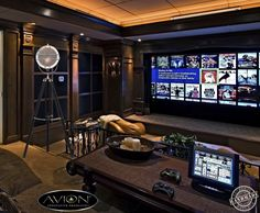 53 Design Wardrobe That Is In Trend - Home-dsgn, de cine en casa diy At Home Movie Theater, Home Theater Speakers, Home Theater Rooms, Home Theater Projectors, Home Theater Design, Home Theater Seating, Cinema Room, Man Cave Home Bar, Luxury Houses