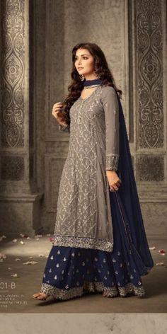 Pakistani Dress Design, Pakistani Dresses, Eid Dresses, Party Wear Indian Dresses, Pakistani Suits, Punjabi Suits, Cotton Dresses, Mode Bollywood, Bollywood Fashion