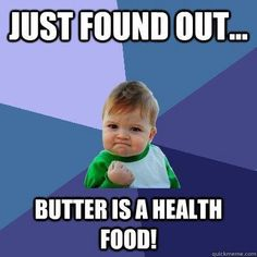 It's true! Find out why butter is a health food here.