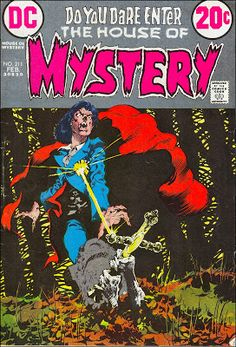 House of Mystery #211, February 1973.