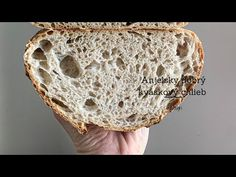 Anjelsky dobrý kvaskovy chlieb - YouTube Bread Baking, Ale, Food And Drink, Youtube, Baguette, Breads, Pizza, Hampers, Baking