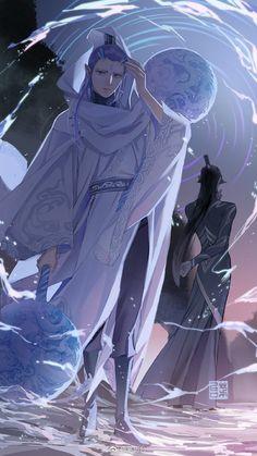 Read the Chinese fantasy novels on Anime Demon Boy, Anime Guys, Fantasy Movies, Fantasy Characters, Fantasy Kunst, Fantasy Art, Fantasy Story, Jiang Shi, Vampire Knight Zero