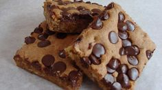Blonde Brownies Recipe Image