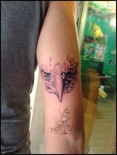Hawk Tattoo #tattoo #tattoos #tattoosofinstagram #model #tattoomodel #tattoolife #tattooed #black #ink #inked #design #tattoodesign #work #panormostattoo #follow #f4f #followme #followforfollow #follow4follow #teamfollowback #followher