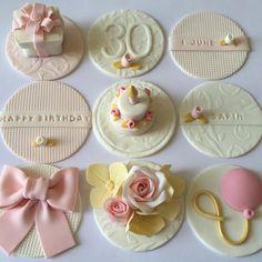 Cupcake toppers Más