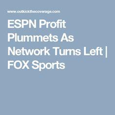 ESPN Profit Plummets As Network Turns Left | FOX Sports