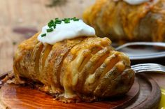 Scalloped Hasselback Potatoes  - CountryLiving.com
